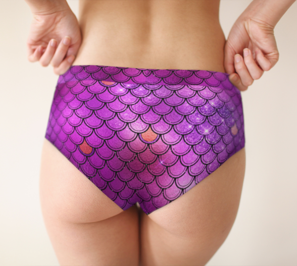 pink mermaid underwear